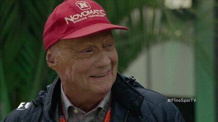 Veja a homenagem a Niki Lauda, tricampeão da Fórmula 1