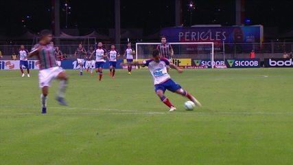 Gols de Bahia 3 x 2 Fluminense pela 6ª rodada do Brasileirão 2019
