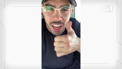 Gabriel Diniz gravou vídeo dentro da aeronave pouco antes de acidente