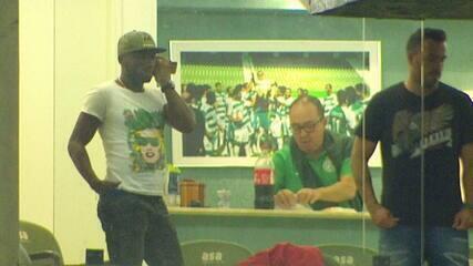 Armero acompanha partida do Guarani x Brasil de Pelotas no Brinco de Ouro