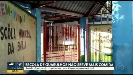Escolas de São Paulo enfrentam problemas na merenda