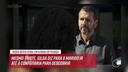 Resumo do dia - 31/05 – Gilda diz para Amadeu procurar Maria da Paz