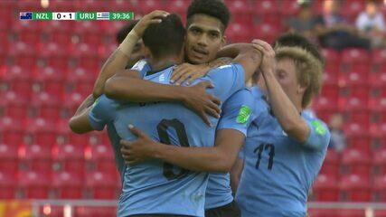 Os gols de Nova Zelândia 0 x 2 Uruguai pela Copa do Mundo Sub-20