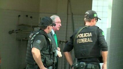 Ex-deputado federal Eduardo Cunha chega ao Rio de Janeiro