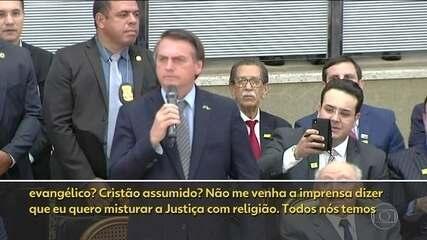 Bolsonaro sugere que Supremo poderia ter um ministro evangélico
