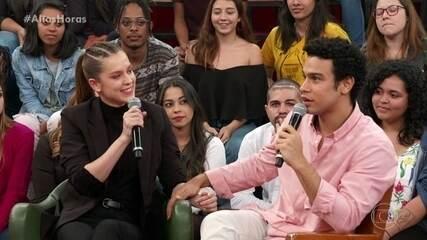 Sophia Abrahão e Sérgio Malheiros dizem que estão se programando para ter filhos