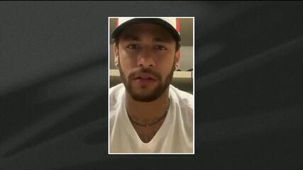 Neymar nega acusações de estupro e mostra trechos de conversas com mulher que o acusa