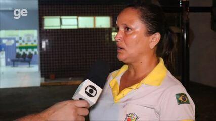 """Árbitra de futsal relata como foi agressão sofrida em partida de futsal: """"Cai no chão"""""""