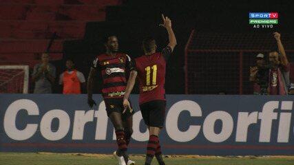 32': Gol do Sport!