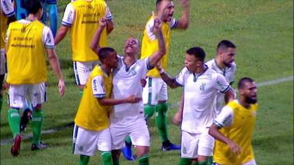Os gols de CRB 1 x 3 América-MG, pela 7ª rodada da Série B 2019