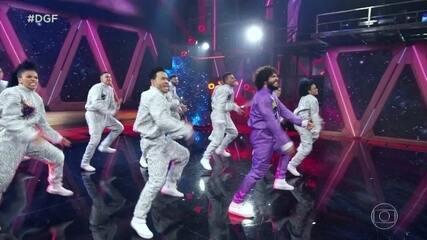 """Cybernético e Rainer Cadete se apresentam no """"Dança de Grupo no Faustão"""""""