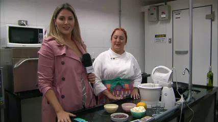 Chef Gabi ensina uma receita para fazer em apenas 20 minutos no Dia dos Namorados