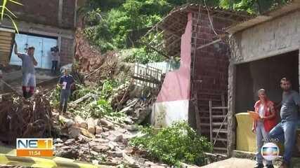 Casa atingida por barreira em Jaboatão estava em área irregular, diz Defesa Civil