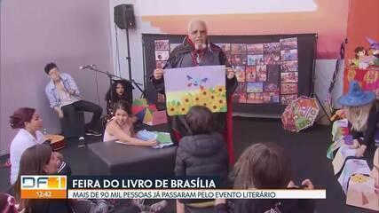 Mais de 90 mil pessoas já passaram pela Feira do Livro de Brasília, em 2019