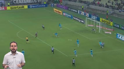 Top X: Os quatro gols mais bonitos de Ceará e Fortaleza até a 9ª rodada da Série A