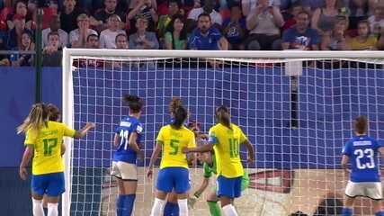 Melhores momentos: Itália 0 x 1 Brasil pela 3ª rodada da fase de grupos da Copa do Mundo de Futebol Feminino
