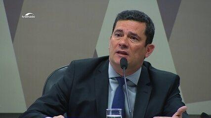 Sérgio Moro fala sobre invasão ao seu celular no Senado