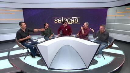 Marcelo Adnet invade Seleção SporTV, imita Luiz Carlos JR e arranca muitas risadas dos participantes