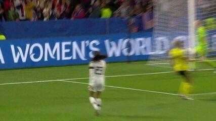 Melhores momentos: Suécia 0 x 2 EUA pela 3ª rodada da fase de grupos Copa do Mundo de Futebol Feminino