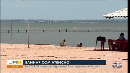 Em 2019 já foram registradas 22 mortes por afogamento no Tocantins
