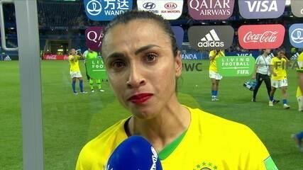 """Marta se diz orgulhosa da seleção e faz apelo a jovens jogadoras: """"Não vai ter uma Marta para sempre"""""""