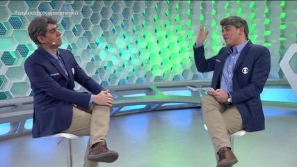 Soy Loco por Copa América: Adnet imita Cléber Machado no 1x1