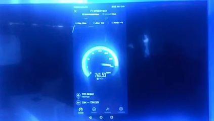 Empresa faz teste de velocidade de tecnologia 5G