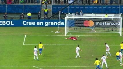 Veja os melhores momentos da vitória brasileira nos pênaltis