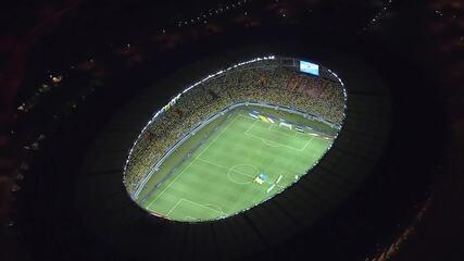 Brasil vence Argentina no Mineirão em 2016