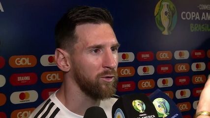Messi acredita em jogo difícil, mas diz que Brasil tem mais responsabilidade por jogar em casa