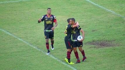 Cleberson marcou o gol da vitória no Recife