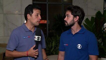 Repórteres trazem informações da Argentina, direto de Belo Horizonte