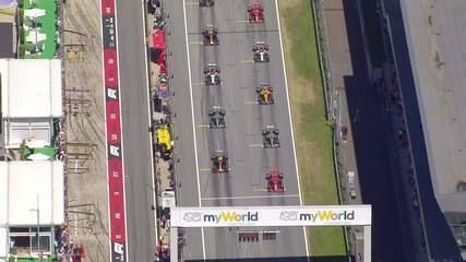 Veja todas as ultrapassagens de Max Verstappen no GP da Áustria