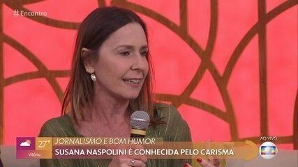 Susana Naspolini lança livro sobre a felicidade