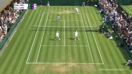 Melo e Kubot dão sorte e quebram na estreia de Wimbledon