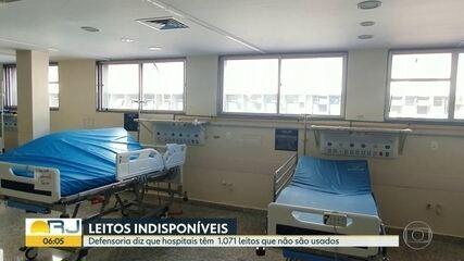 Fechamento de leitos deixa pacientes esperando por vaga de internação