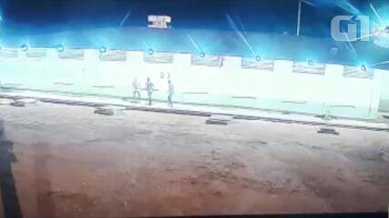 Vídeo mostra 11ª fuga em presídio com mais do dobro de capacidade de presos em RO