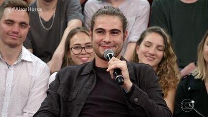 Rafael Vitti diz que tentou fugir da ideia de ser ator