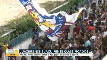 Classificados: Jacuipense e Juazeirense estão cada vez mais perto da Série C