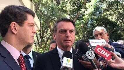 Bolsonaro disse que a reforma deve ser aprovada na Câmara antes do recesso