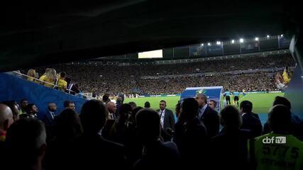 Veja os bastidores da seleção brasileira na conquista da Copa América