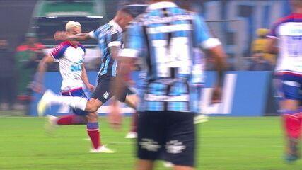 Melhores momentos: Grêmio 1 x 1 Bahia pela Copa do Brasil