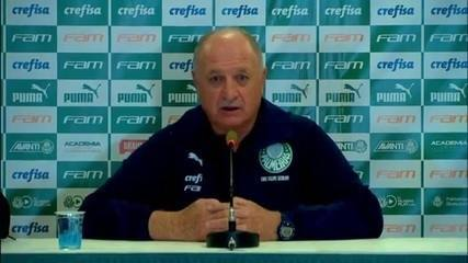 Veja a entrevista de Felipão após a vitória do Palmeiras sobre o Inter