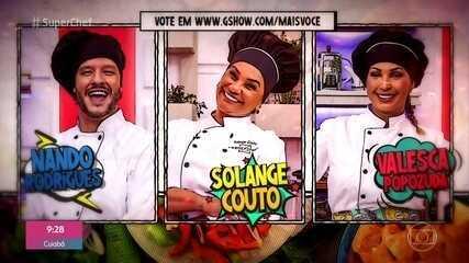Nando Rodrigues, Solange Couto e Valesca Popozuda estão na super panela de pressão
