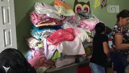 Escola recebe doações e abriga famílias que ficaram desalojadas após barragem ceder