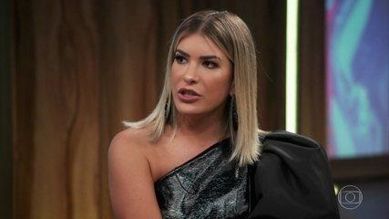 Lorena Improta entrou em concurso de bailarina do Faustão por causa de fã