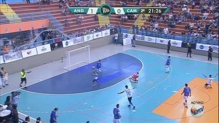 Confira os gols da final da Taça EPTV de Futsal 2019