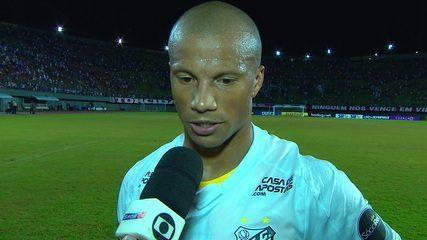"Sánchez comenta sobre o gol marcado ""Por sorte peguei o rebote"""