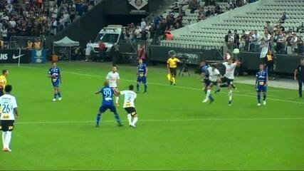 Veja as duas únicas faltas cometidas pelo Corinthians contra o CSA