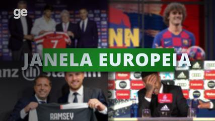 Janela Europeia: veja alguns destaques de transferências na Europa